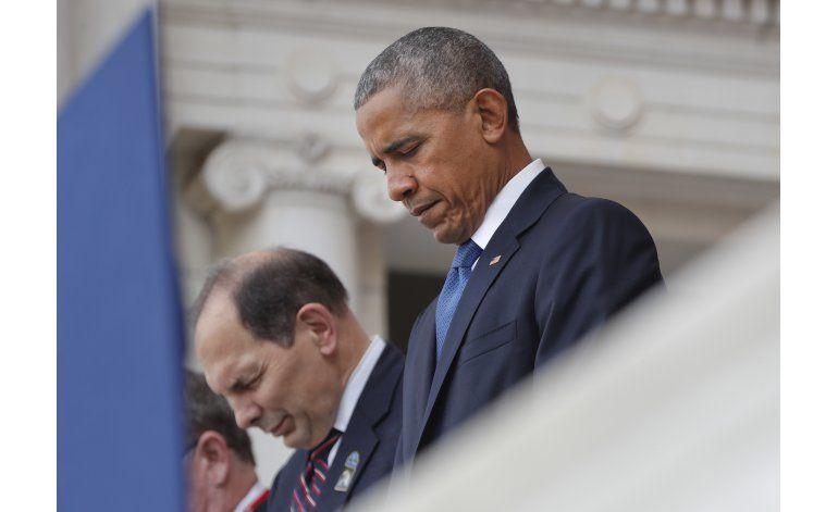 Obama dice que fuerzas armadas inspiran unidad