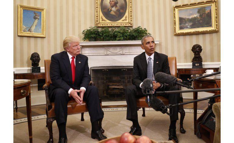 Obama prevé que le pregunten sobre Trump en su última gira