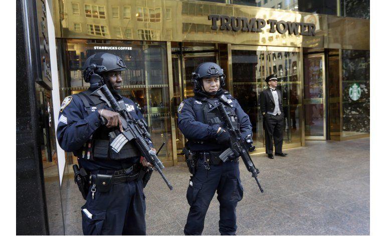 Seguridad convierte la Trump Tower en el Fuerte Trump