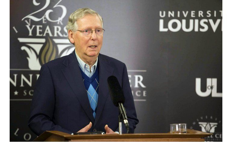 Líder republicano en Senado pide a Trump apoyo para Keystone