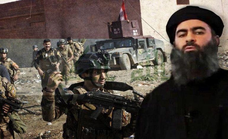El líder del Estado Islámico huyó de Mosul y la derrota de los yihadistas es inminente