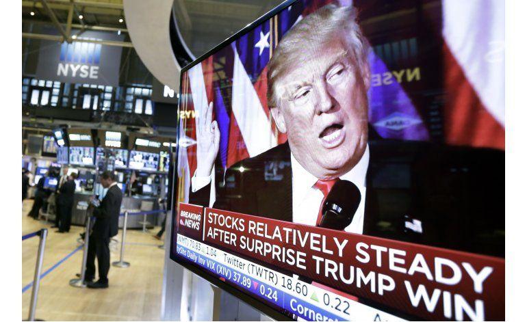 El mercado tiene un mensaje sobre la presidencia de Trump