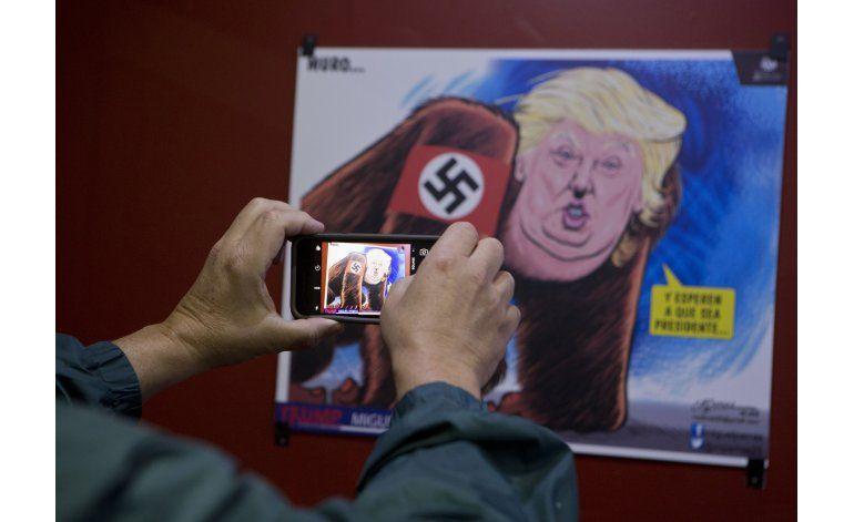 México: caricaturistas le hacen homenaje a Trump
