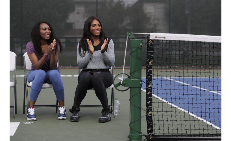 Venus y Serena Williams vuelven a ciudad de su niñez