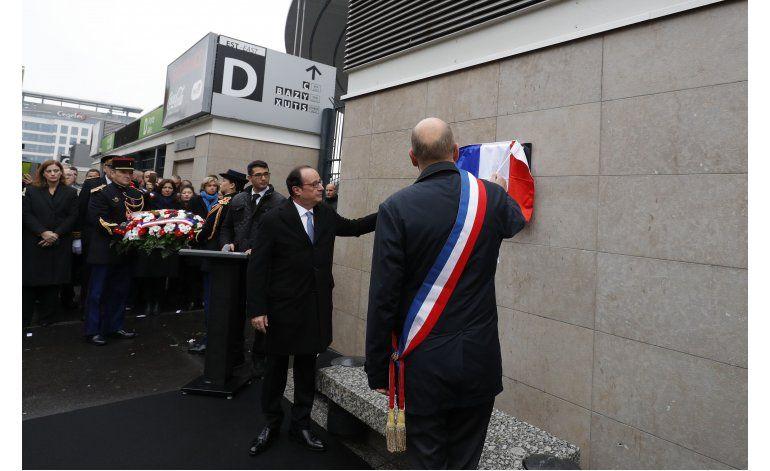 Francia recuerda a las víctimas en el aniversario de ataques