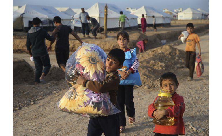 Iraquíes expulsan a milicianos de población al sur de Mosul