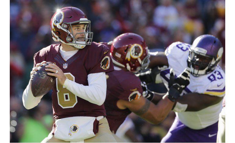 Redskins propinan a Vikings 4ta derrota seguida