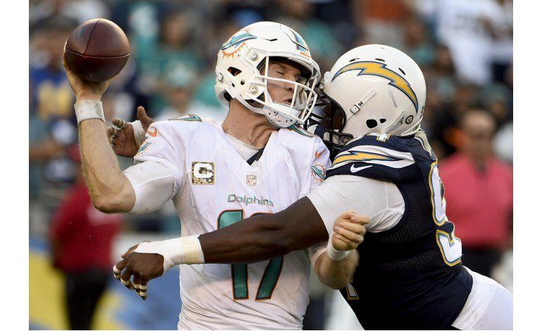 Dolphins doblegan a Chargers con anotación de Kiko Alonso