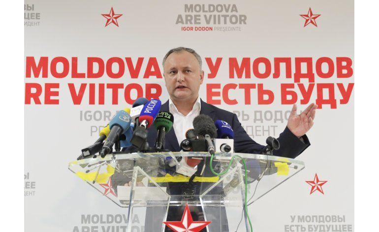 Moldavia: Candidato pro ruso se dice vencedor presidencial