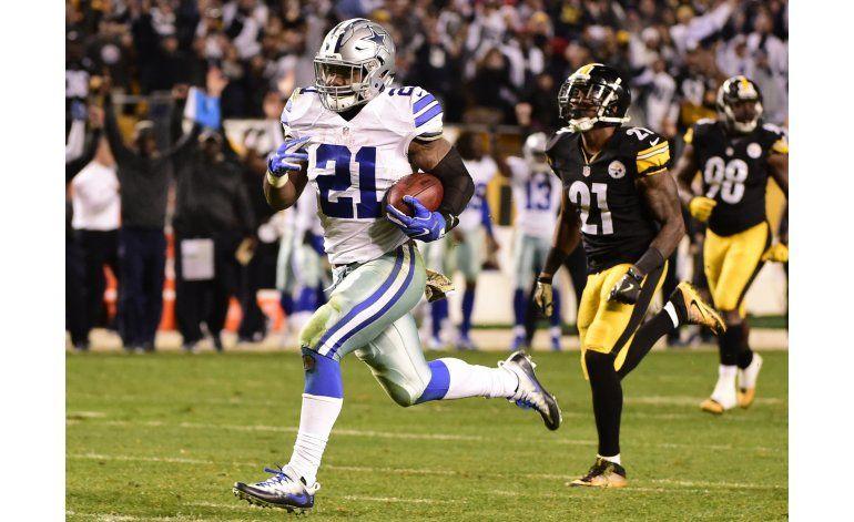 Cowboys logran triunfo electrizante sobre Steelers