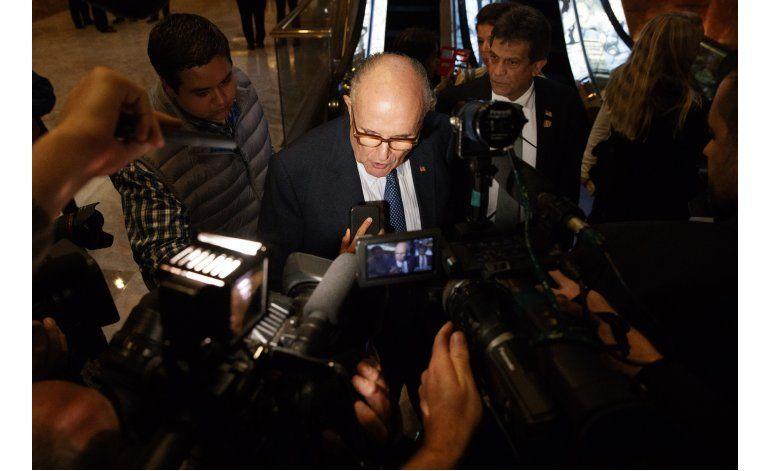 Giuliani: los hijos de Trump podrían gestionar sus activos