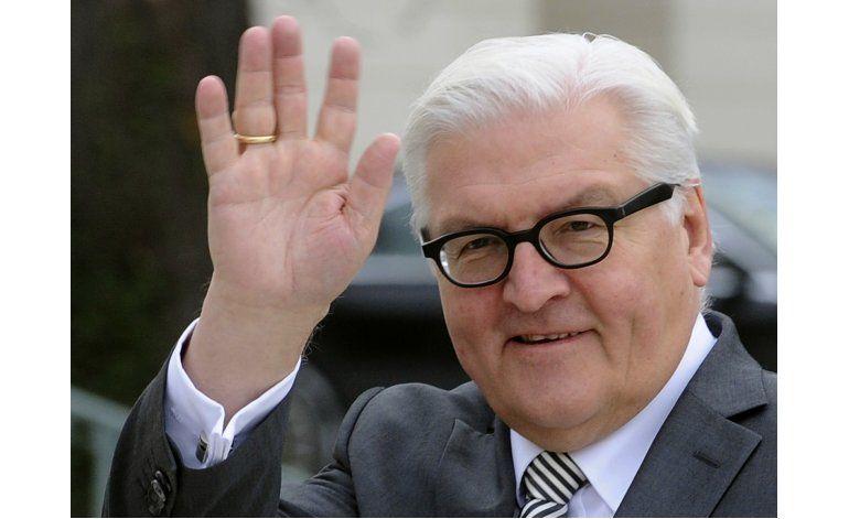 Medio: Coalición alemana apoya a Steinmeier como presidente