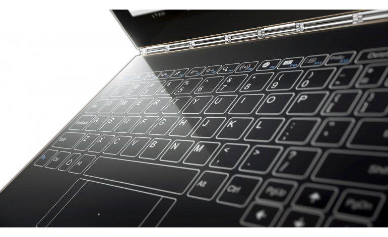 Nuevas laptops innovan los teclados