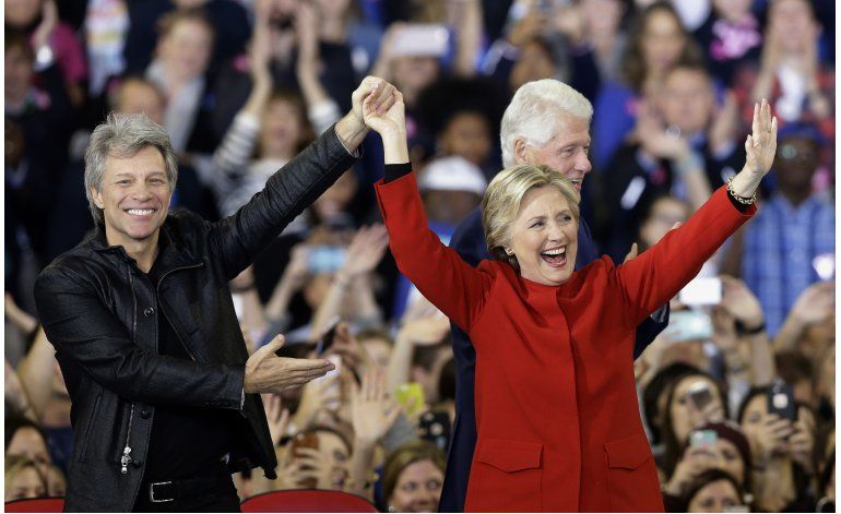 Clinton gana los 4 votos correspondientes a New Hampshire