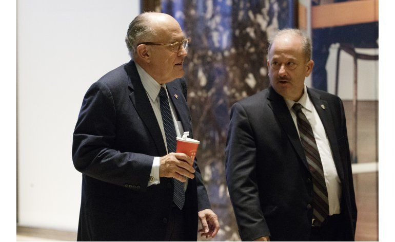 LO ULTIMO: Giuliani, favorito para secretario de Estado