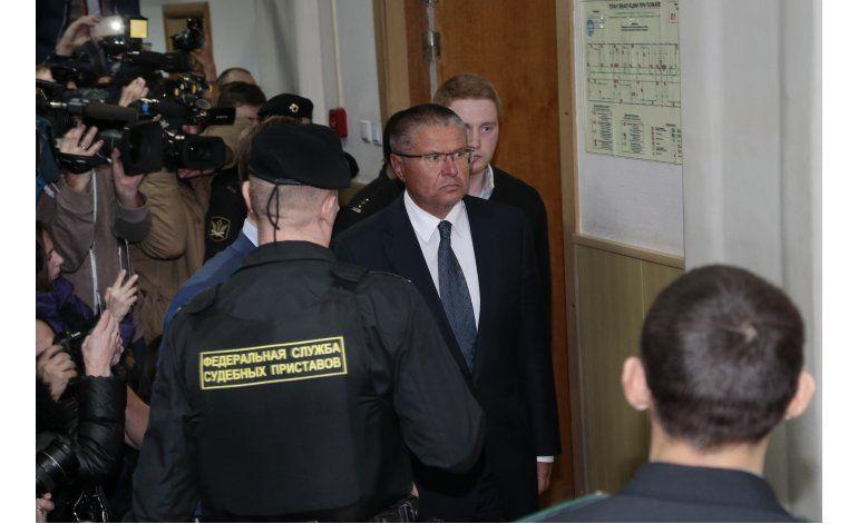 Rusia: ministro de desarrollo detenido por soborno