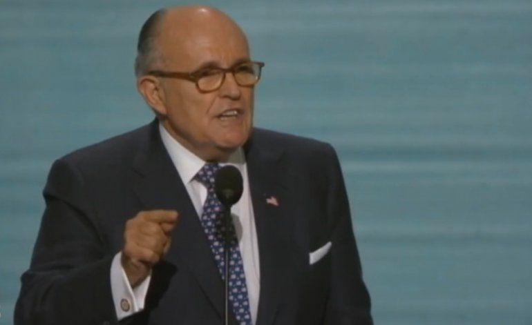 Rudy Giuliani se perfila como el favorito para Secretario de Estado en la administración Trump