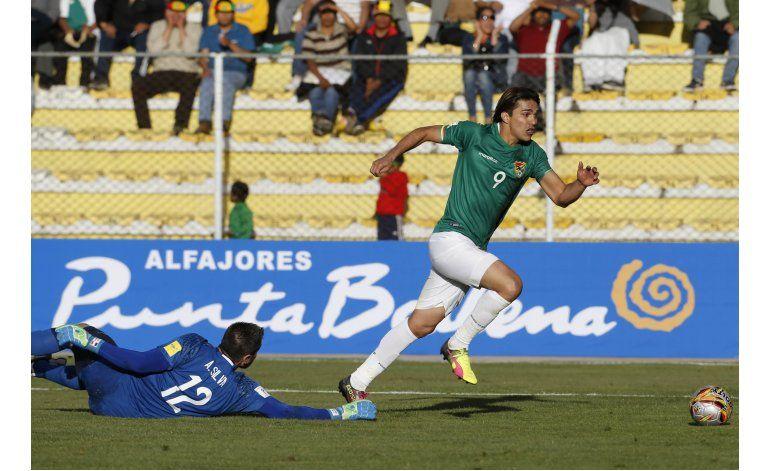 Paraguay cae ante Bolivia 1-0 y se aleja del Mundial