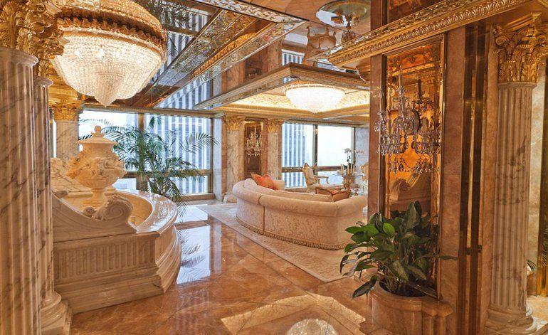Así es el lujoso penthouse de USD 100 millones de Trump