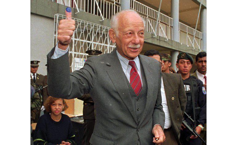 Ecuador: fallece el expresidente Sixto Durán-Ballén