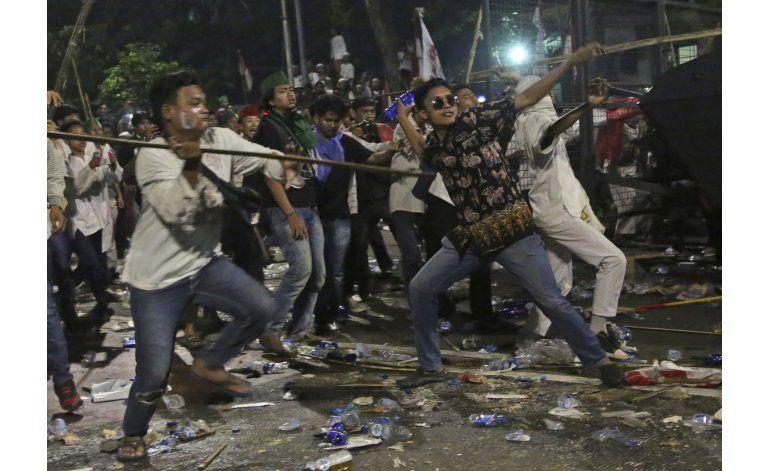 Gobernador cristiano de Yakarta es sospechoso de blasfemia
