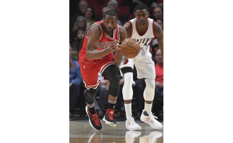 Butler aporta 27 puntos a victoria de Bulls sobre Blazers