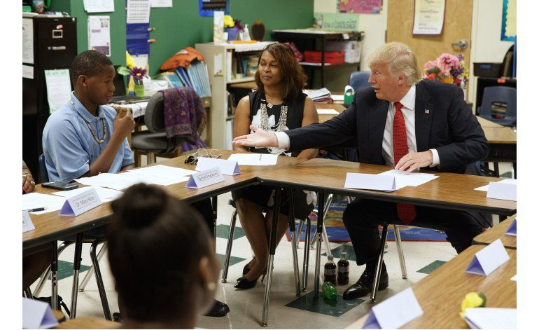 Plan Trump de libre elección de escuelas enfrenta obstáculos