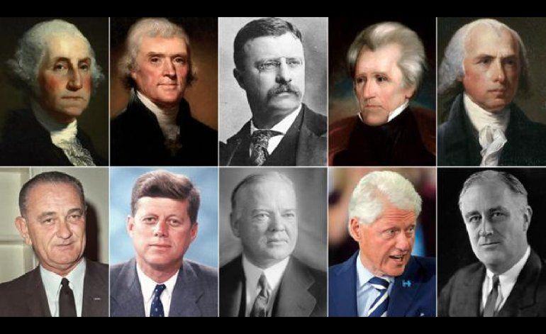 Los 10 presidentes de Estados Unidos más ricos antes de Donald Trump... y el más pobre
