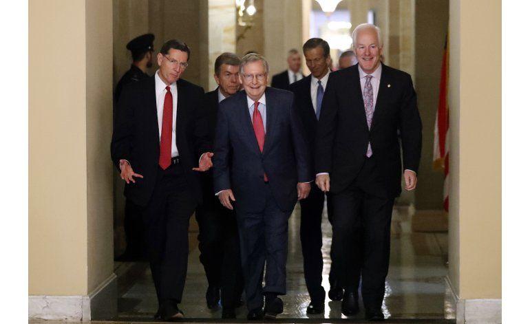 Republicanos y demócratas eligen sus líderes para el Senado