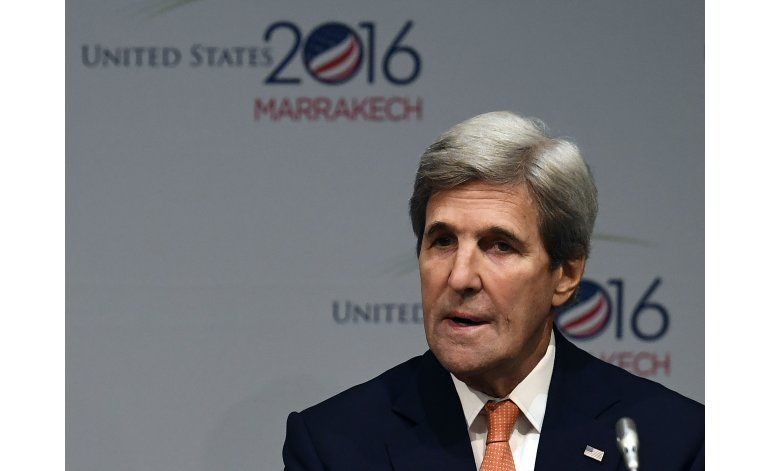 Kerry: No se revertirán metas de Obama para cambio climático