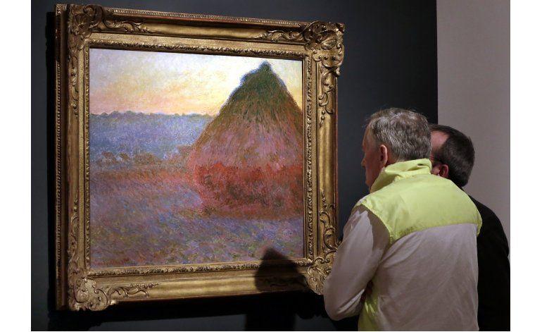 Subastan pintura de Claude Monet en 81,4 millones de dólares