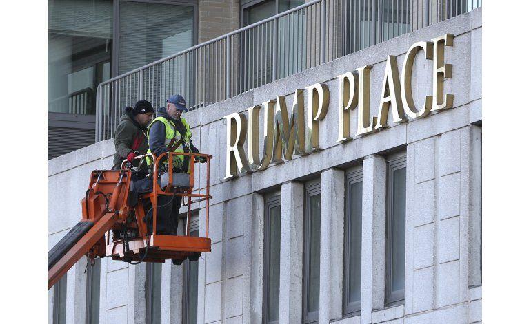 Retiran nombre de Trump Place de edificios residenciales