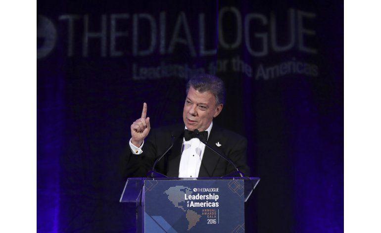 Santos desea pronta aprobación del acuerdo de paz