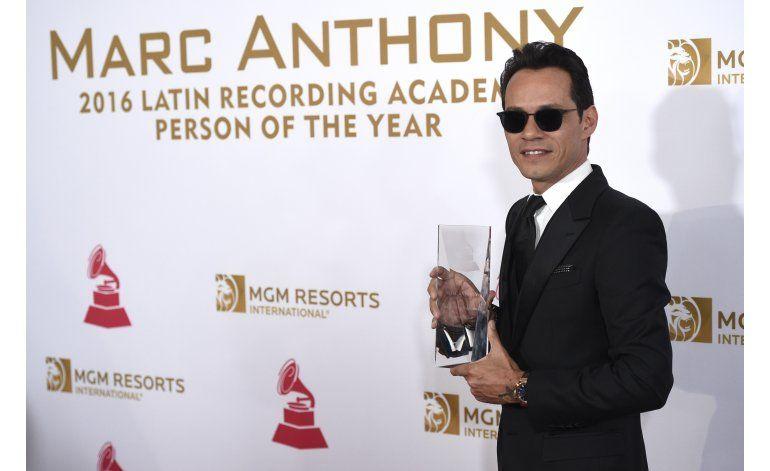 Marc Anthony vive noche inolvidable como Persona del Año