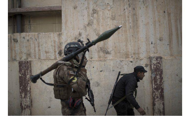 Ejército iraquí frena su avance en Mosul por el mal tiempo