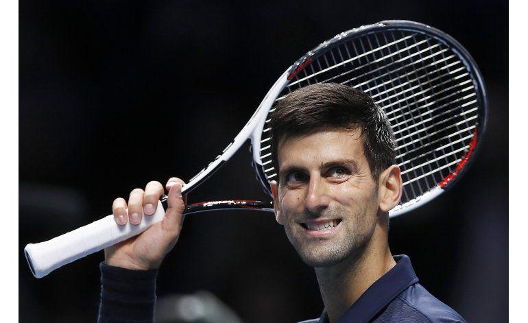 Djokovic logra 3ra victoria al hilo en Copa Masters