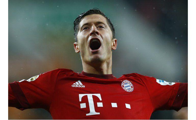 Duelo de artilleros de la Bundesliga en Bayern-Dortmund