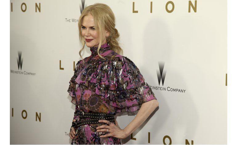 Kidman da el ejemplo y ayuda a mujeres víctimas de violencia