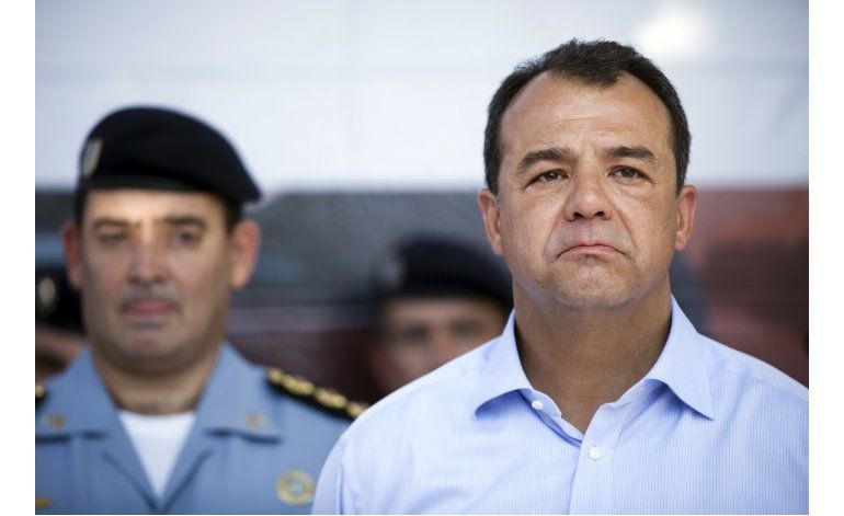 Arrestan a exgobernador brasileño en caso de corrupción