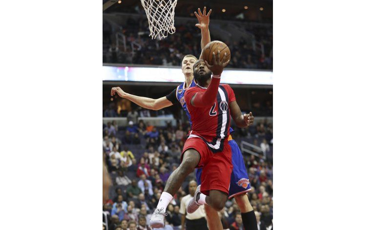 Wall anota 23 puntos, Wizards derrotan a Knicks