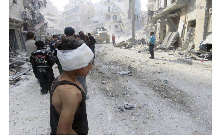 Ataques aéreos en provincia de Alepo matan a familia de 7