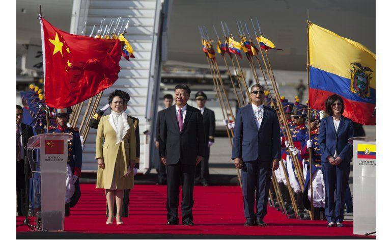 Trump habla de muro, China levanta puentes con Latinoamérica