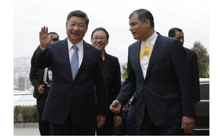 Presidentes de Ecuador y China inauguran hidroeléctrica