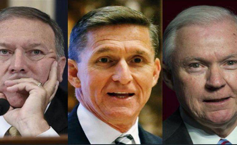 Trump designa a Fiscal General, a asesor de seguridad y a jefe de la CIA