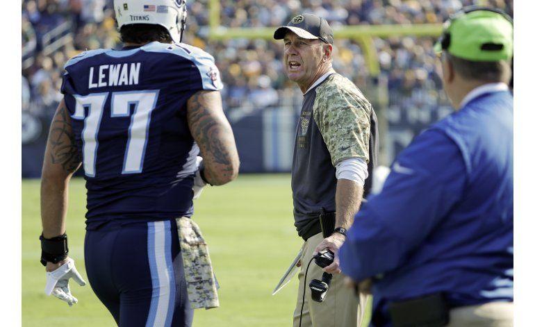 NFL multa a Lewan, de Titans y Neal, de Falcons