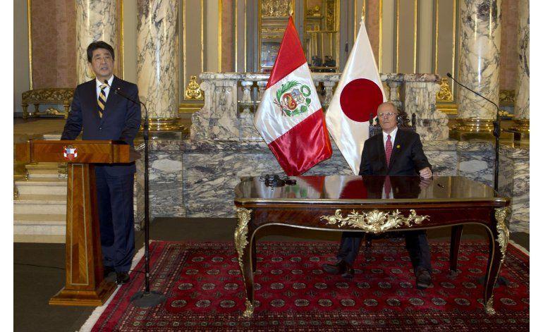 Japón y Perú se esforzarán para que el TPP entre en vigor