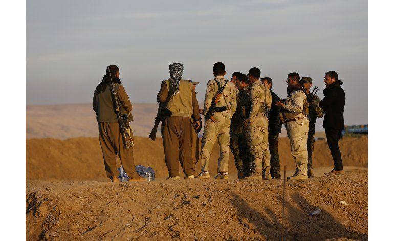 Tropas iraquíes enfrentan resistencia del grupo EI en Mosul