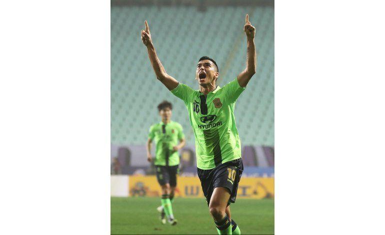 Jeonbuk con ventaja en final de Liga de Campeones de Asia