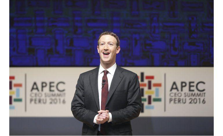 Fundador de Facebook en APEC: Desconectarse no es el camino
