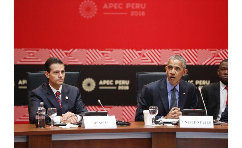 Peña Nieto quiere modernizar el NAFTA